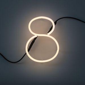 Seletti NUMERO LUMINOSO DA PARETE Neon Art - 8