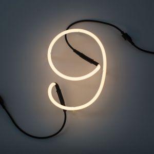 Seletti NUMERO LUMINOSO DA PARETE Neon Art - 9