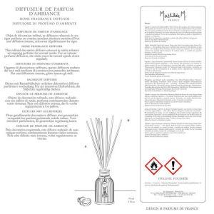 Mathilde M. DIFFUSORE DI PROFUMO D'AMBIENTE Opaline poudrée