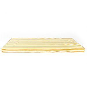 Nobodinoz MATERASSO SAINT-TROPEZ Strisce miele 120x60cm