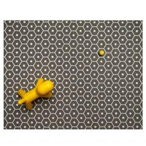 Pappelina TAPPETO HONEY Grigio 70 x 225 cm