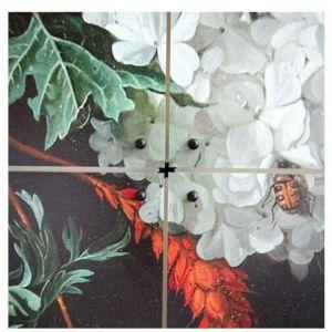 IXXI QUADRO A PANNELLI STILL LIFE con FIORI Small 80 x 120 cm