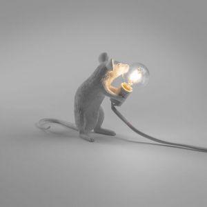 Seletti MOUSE LAMP seduto