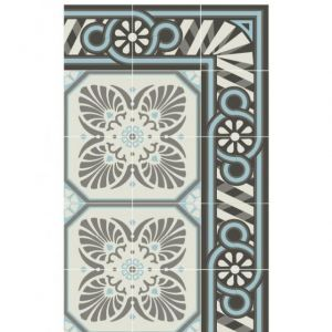 Beija Flor TAPPETO IN VINILE RETRO CHIC 70 x 180 cm