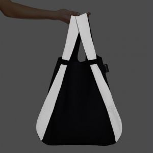 Notabag ZAINETTO REFLECTIVE BLACK
