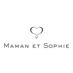 Maman et Sophie COLLANA 15 STELLE E CUORE A RIGHE