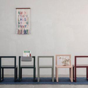 Ferm Living TAPPETO NOMAD BLU 60 x 90 cm