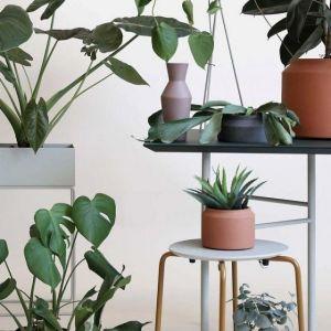 Ferm Living CONTENITORE IN METALLO PLANT BOX GRIGIO