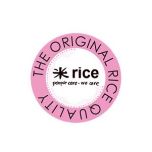 Rice BICCHIERE MEDIO FANTASIA PEONIE ROSSE