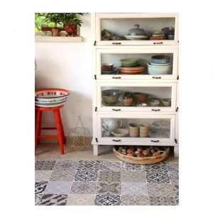 Beija Flor TAPPETTO IN VINILE ECLECTIC E4 50 x 120 cm
