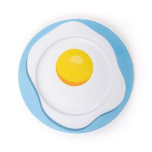 PIATTO IN PORCELLANA SELETTI STUDIO JOB - EGG
