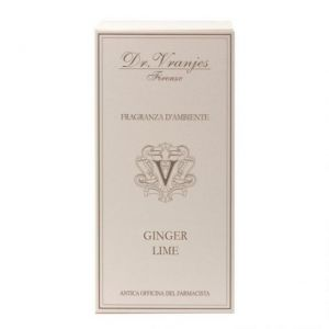 FRAGRANZA D'AMBIENTE GINGER LIME 100 ml - DR. VRANJIES