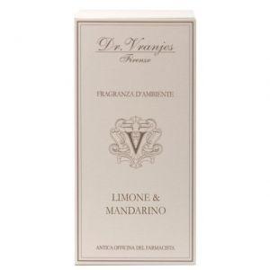 FRAGRANZA D'AMBIENTE LIMONE E MANDARINO 250 ml - DR. VRANJIES