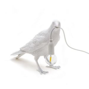 LAMPADA DA TAVOLO SELETTI BIRD WAITING