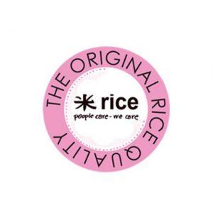 Rice SPAZZOLA IN LEGNO PER PIATTI IN STILE RETRO' - ROSSO BLU