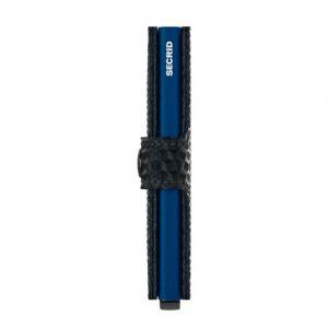 Secrid MINIWALLET CUBIC BLACK BLUE