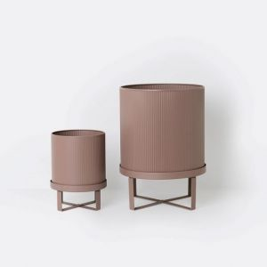 Ferm Living VASO BAU POT DUSTY ROSE SMALL