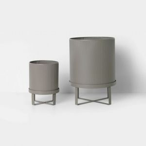 Ferm Living VASO BAU POT WARM GREY SMALL