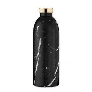 24 Bottles CLIMA BOTTLE BLACK MARBLE 850 ml