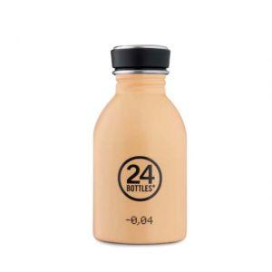 24 Bottles URBAN BOTTLE PEACH ORANGE 250 ml