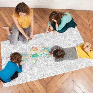 OMY Design POSTER DA COLORARE XXL PARIGI 180 x 100 cm