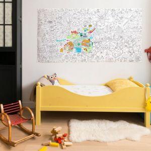OMY Design POSTER DA COLORARE XXL FANTASTIC 180 x 100 cm