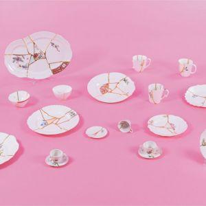 Seletti KINTSUGI-2 Piatto Frutta in porcellana