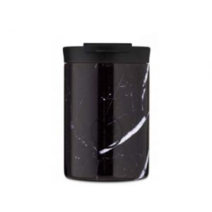24 Bottles TRAVEL TUMBLER BLACK MARBLE 350 ml