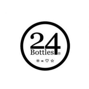 24 Bottles TRAVEL TUMBLER BLACK MARBLE 350 ml