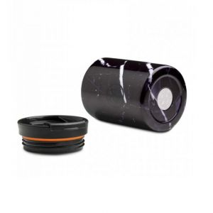 24 Bottles TRAVEL TUMBLER BLACK MARBLE 600 ml