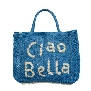 BORSA in TELA DI JUTA CIAO BELLA Small