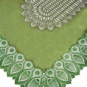 TOVAGLIA PIZZO GREEN 150 x 264 cm