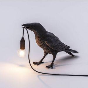 LAMPADA DA TAVOLO CORVO IMMOBILE