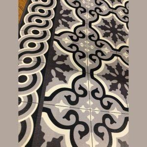 TAPPETTO IN VINILE DECORO MOUNTAIN TS9 60 x 97 cm