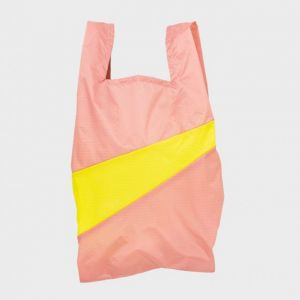 SHOPPING BAG TRY e FLUO YELLOW