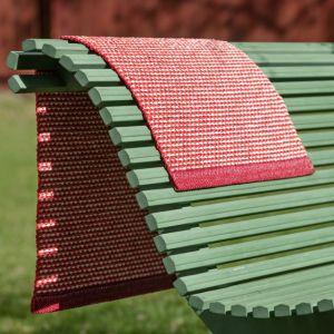 TAPPETO EFFI DARK RED 60 x 125 cm