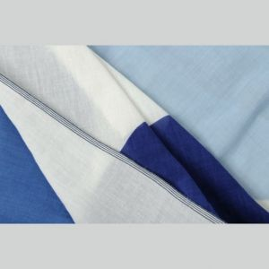 SCIARPA IN COTONE COLORE INK BLUE
