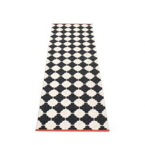 TAPPETO MARRE BLACK VANILLA 70 x 225 cm