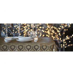 fiorirà un giardino TOVAGLIA PIZZO Oro 150 x 264 cm