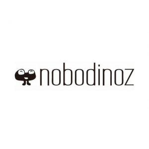 Nobodinoz COPERTA LARGE 148x248cm Zig Zag rosa