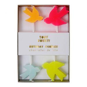 Meri Meri TOOT SWEET Candeline Set 8 pz