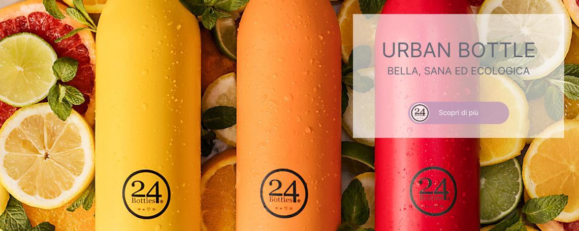 Bottiglia ecologica urban bottle 24 bottles